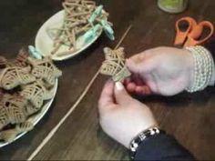 papierové pletenie - hviezdy - YouTube