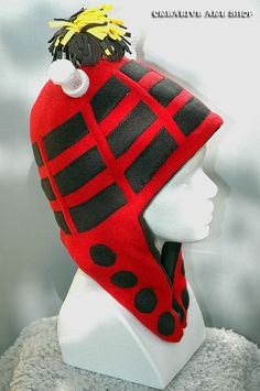 Fleece Dalek Hat