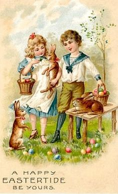 Old Easter Post Card —  (426x700)