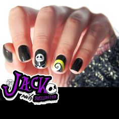 Just because I cannot see it,doesnt mean I cantbelieve it- Jack Skellington. Tutorials (video and pictorial) by fall in naiLove.