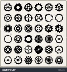 Gears And Cogs Стоковые фотографии 176613674 : Shutterstock