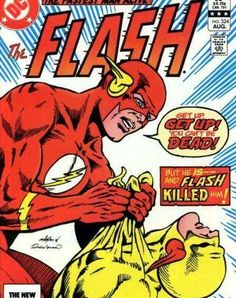 The Flash DC Comics Book cover art super heroes villians Marvel Dc Comics, Flash Comics, Dc Comics Superheroes, Bd Comics, Old Comic Books, Vintage Comic Books, Comic Book Covers, Vintage Comics, Caricatures