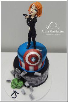 Marvelous Black Widow Cake made by Anna Magdalena cukrárna- Kurzy