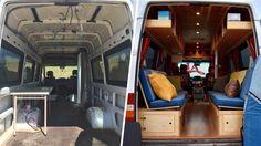 Prima e dopo: Van Makeover