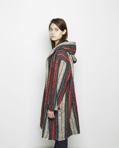 Isabel Marant / Ibo Kaftan Coat Isabel Marant Étoile / Ivan Corduroy Pant #pf14 Thing 1, Heavy Weights, Got The Look, Fall Collections, Woven Fabric, Kaftan, Winter Style, Frocks, Style Me
