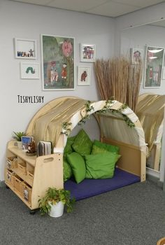 Book nook in my FS1 classroom.