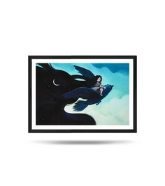 Nightfall, Night, sky, Girl, Tale, Moon, Fine Art Print, Matte, digital illustration Night Skies, Digital Illustration, Fine Art Prints, My Arts, Batman, Sky, Superhero, Unique Jewelry, Handmade Gifts