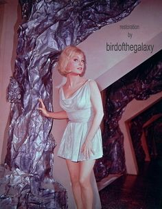 """Susan Oliver as Vina from the unaired episode, """"The Cage"""". Excerpts from this first pilot were used in the 2-part season one episode, """"The Menagerie""""."""