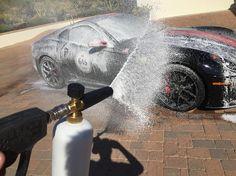 Super soaper bath time by #autorunnersdetailing on this #599gto #ferrari #carshow #details #scottsdale #az #phoenix #arizona #ferrariworld @ferrariexotic #cars #carwash #wax #polished #clean #carsofinstagram #speed #racecar