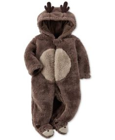 Carter's Baby Reindeer Footed Coverall - we have this one too Baby Girl Christmas, Babies First Christmas, Christmas Outfits For Babies, Christmas Baby Clothes, 1st Christmas, Carters Baby Boys, Baby Kids, Little Babies, Cute Babies