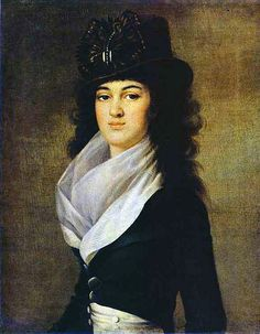 Voille, Jean-Louis (1744c.-1803c.) - 1792-93 Portrait of Princess Anna P. Gagarina