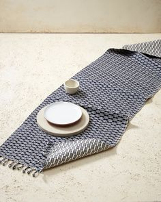 Panalito Runner Indigo | Kitchen Textiles | MINNA
