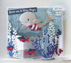 Marianne Design Blog: Diep in de zee!