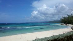 Mamee bay beach in Jamaica Pass by on the way to Riu in Ocho Rios. I miss Jamaica BAD!
