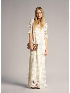 Couture tricotée et style de jersey: Inspiration: ba&sh Crochet Maxi Dress