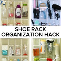 Show Rack Organization Hack // #hacks #lifehacks #organization #home #gooful