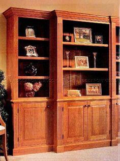 Handsome Bookcase Plans - Furniture Plans
