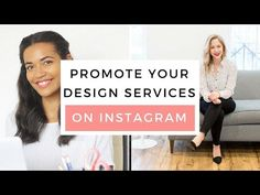 How To Promote Your Design Services On Instagram - YouTube