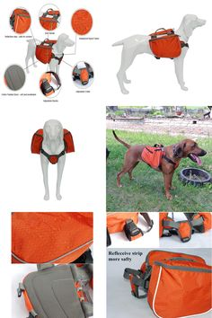 [Visit to Buy] My Pet Dog Waterproof Backpack Outdoor Camping Training Breathable Dogs Bag For Medium Large Big Pet Carrier Product BP02 #Advertisement