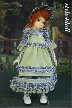 style4doll outfit for 1/4 MSD Miki Nysa Layla Kaye Wiggs OOAK outfit