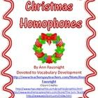 Jingle Belles – Choose the correct homophone in the Christmas song or lyric (includes answer key)Christmas Homophone Picture This (2 pages) – ...
