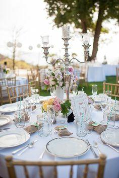 beautiful table decor