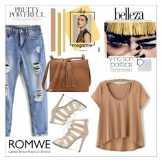 """""""Romwe 3"""" by fashion-addict35 ❤ liked on Polyvore featuring Rika"""