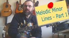 Melodic Minor Lines   part 1