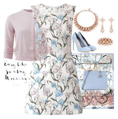 """""""Easy like Sunday morning..."""" by easy-dressing ❤ liked on Polyvore featuring Michael Kors, Miss Selfridge, Ellen Conde, Miu Miu, floraldress and polyvoreeditorial"""