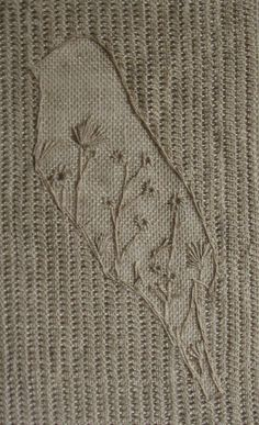 Lace Bird Embroidery 1