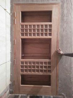 JANDU INTERIOR 9780360007 Bedroom Furniture Design, Door Design Interior, Wooden Front Door Design, Wooden Doors, Door Gate Design, Wood Doors, Doors Interior, House Entrance Doors, Bedroom Bed Design