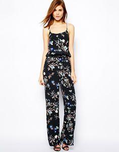 Warehouse Floral Jumpsuit