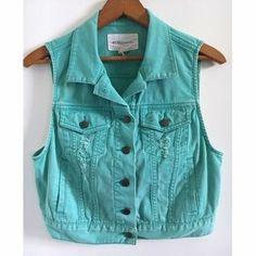 BCBGeneration Jackets & Blazers - BCBGeneration Denim Vest