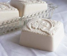 Basmati Rice Blended Creme Soap by Soapalaya Soaps - I would love to have a mold like this, or even hand engrave :)