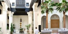 Coco Morocco: MOROCCAN HOMES: COURTYARDS