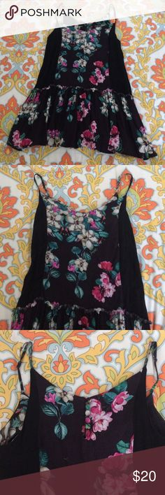Insight magnolia dress sundress Floral mini sundress from Urban Outfitters, Insight. Great condition, US4 UK8 insight Dresses Mini