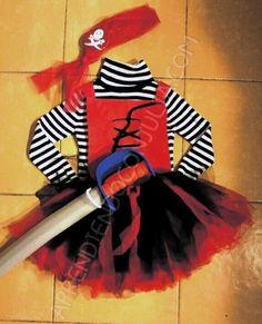 Pirate girl costume directions in spanish pictures available disfraz casero diy de pirata para nia aprendiendo con julia solutioingenieria Choice Image