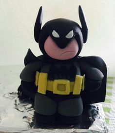 Batman in pasta da zucchero