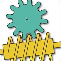 Worm Gear   www.robives.com Speed is reduced and the power increased. The motion is irreversable M
