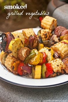 Smoked Grilled Vegetables - I think these veggies look better than anything I've seen today!
