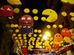 Awesome Pac-man decorations