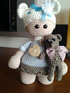 Pop met teddy