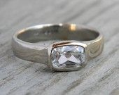 When my engagement ring is (finally) reset, wouldn't this be awesome!  No snagging!!