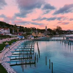 Join Pure Michigan and Under the Radar for a virtual trip around Mackinac Island. Mackinac Island Michigan, Lake Michigan, Holland Michigan, Michigan Usa, Northern Michigan, Michigan Vacations, Michigan Travel, Places To Travel, Places To See