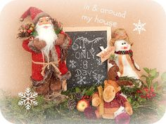 In & around my house Christmas Decorations, Christmas Ornaments, Holiday Decor, Chalkboard Art, Christmas Stockings, My House, Home Decor, Xmas Ornaments, Fall Chalkboard Art
