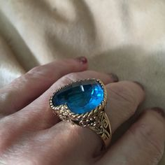 Sajen Silver Co., Caribbean blue & bronze ring NEW Spectacular! Great design, amazing artwork! Sajen Silver Co Jewelry Rings
