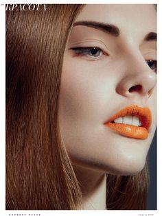 Polina Viljun for Harper's Bazaar Russia.