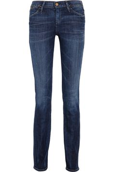 Eny mid-rise straight-leg jeans by Goldsign