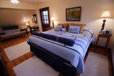 The James River Room at Rockcliffe Farm Retreat