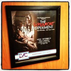 With @vegaslocaldad at a media event for The Screamont Experiment...kinda scared already